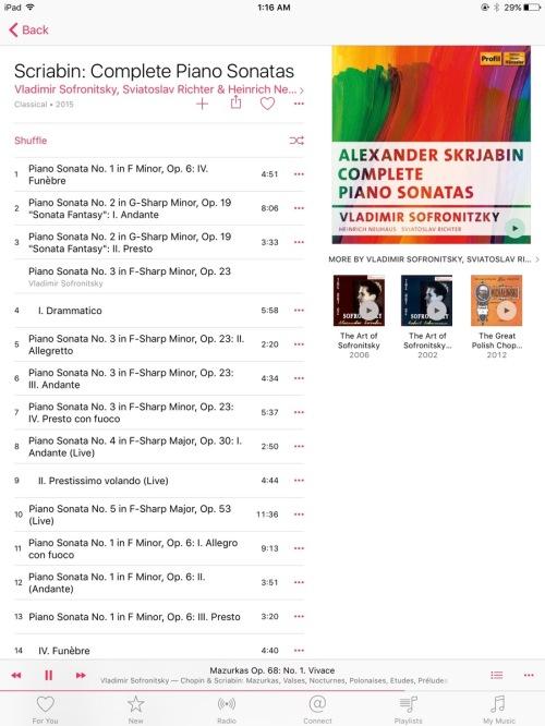 Apple Music on iOS 9.2